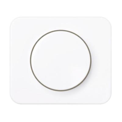 Tapa boton regulador electronico blanco 75054-30 serie 75 simon