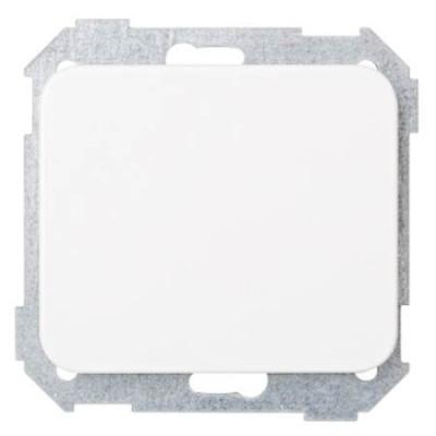 Tapa ciega blanco nieve 75800-30 serie 75 simon
