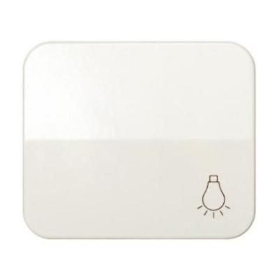 Tecla pulsador simbolo luz marfil simon 75