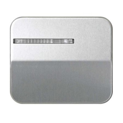 Tecla interruptor conmutador luminoso simon 75 aluminio