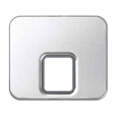 Tapa toma telefono aluminio 75062-33 serie 75 simon
