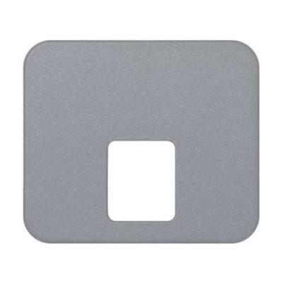 Tapa toma telefono gris 75062-35 serie 75 simon