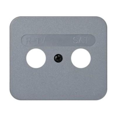 Tapa toma r-tv sat gris 75097-35 serie 75 simon
