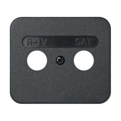 Tapa toma r-tv sat grafito 75097-38 serie 75 simon