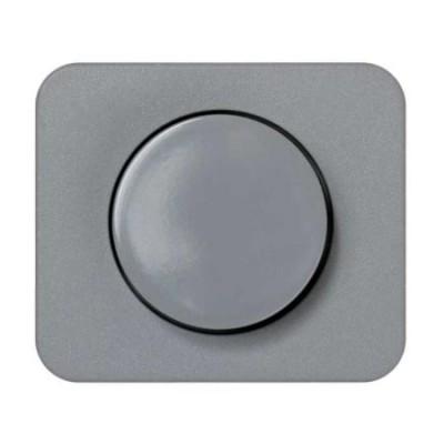 Tapa boton regulador electronico gris 75054-35 serie 75 simon