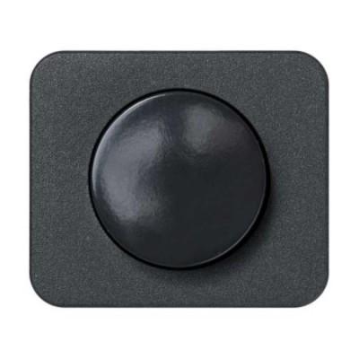 Tapa boton regulador electronico grafito 75054-38 serie 75 simon
