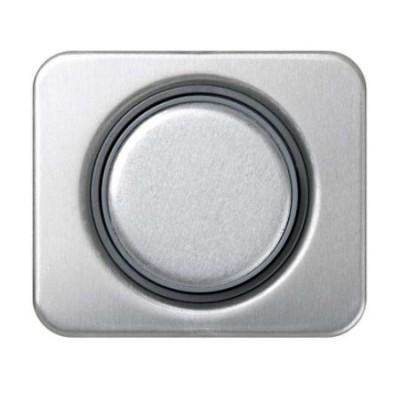 Tapa boton regulador electronico aluminio 75054-33 serie 75 simo