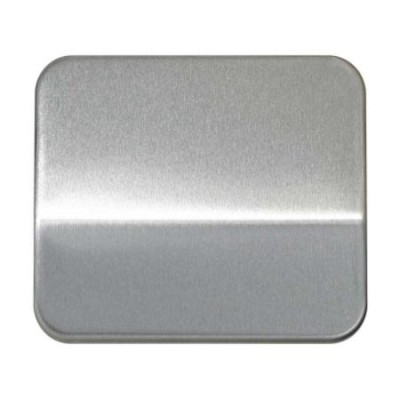 Tecla pulsador tirador o salida cables aluminio serie 75 simon