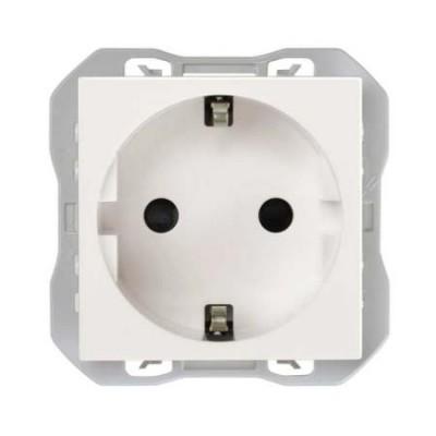 Enchufe schuko embornamiento rápido blanco simon 270 20000472-090