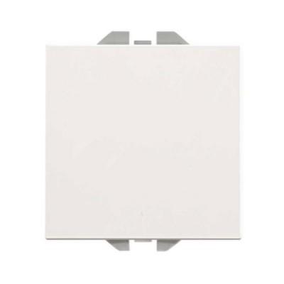 Pulsador neutro ancho blanco Simon 270 20000150-090