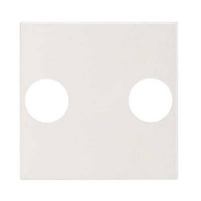 Tapa toma antena blanca Simon 270 20000053-090