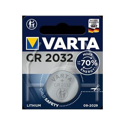 Pila botón Litio Varta CR2032 3V