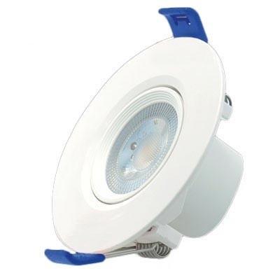 Foco empotrable LED orientable redondo 7W blanco frío 5700K