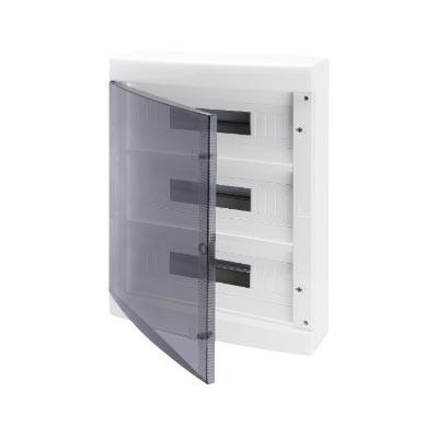 Cuadro eléctrico GEWISS gw40051 superficie puerta transparente