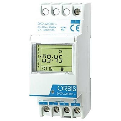 Interruptor horario digital Orbis data micro+ ob172012n