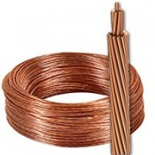 Cable desnudo toma de tierra