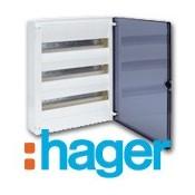 Cuadros eléctricos empotrar Hager