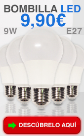 bombillas de led 9w epistar e27