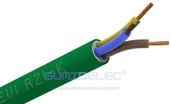 Cable cero halógenos
