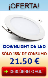 Oferta downlight de led