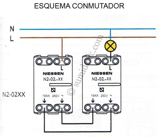Instalar un enchufe con un interuptor - Instalar interruptor conmutador ...