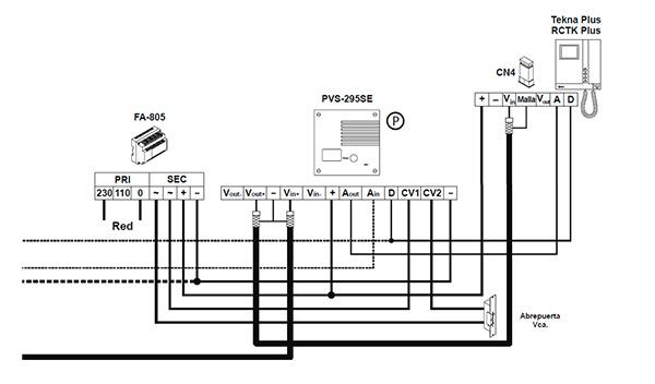 Manual de instalaci n de videoportero golmar digital serie - Instalacion de videoportero ...