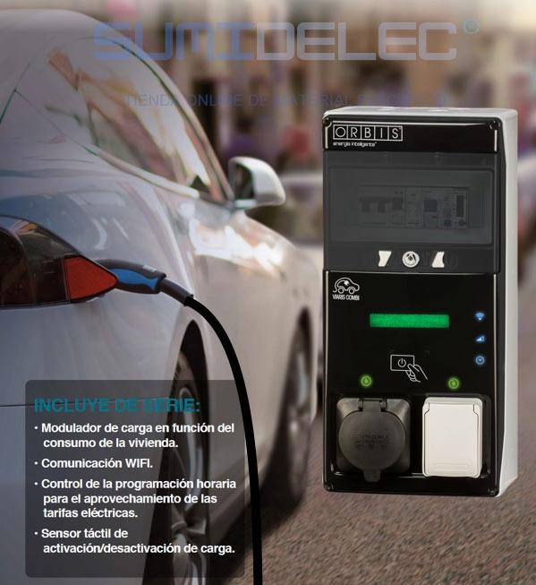 Estación de carga para coches eléctricos