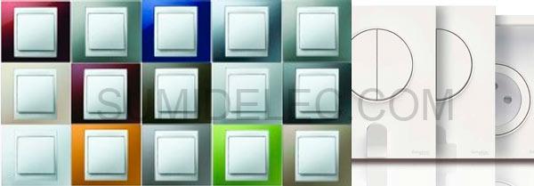 Mecanismos electricos comprar mecanismos el ctricos baratos - Llaves de luz niessen ...