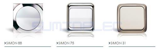 Mecanismos simon comprar mecanismos electricos simon - Enchufes simon 31 ...