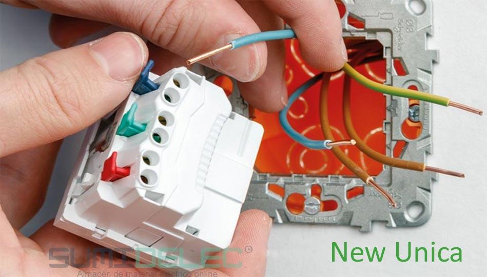 Montaje de los mecanismos New Schneider