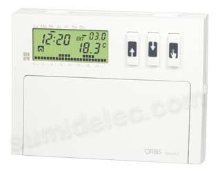 Cronotermostato digital Orbis