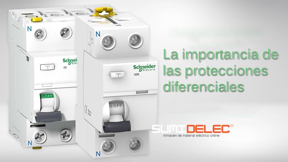 La protección con diferenciales eléctricos