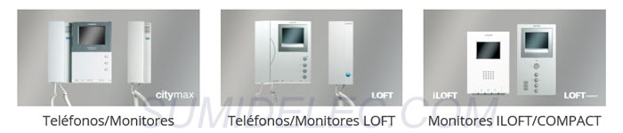 telefonillos y monitores adicionales