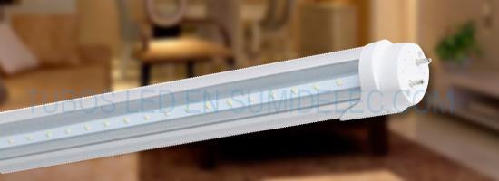 Tubos con tecnología LED