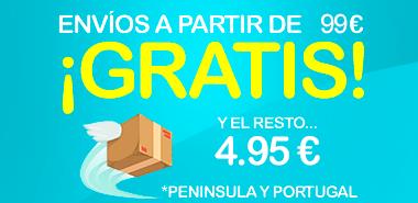 Envíos gratis a partir de 150 euros