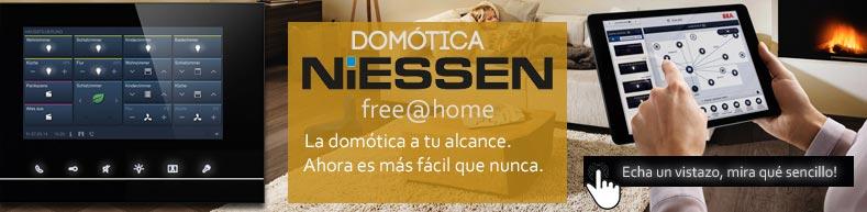 Domótica para vivienda niessen free@home