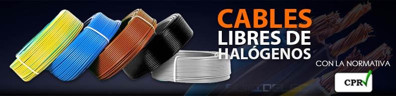 Cables libres de halógenos en Sumidelec