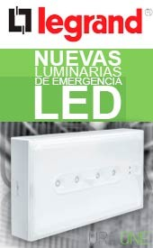 Luces de emergencia LED Legrand