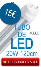 Oferta tubo de led 20w 120cm