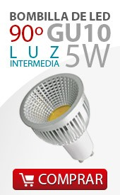 Bombilla led cob 5w color intermedio